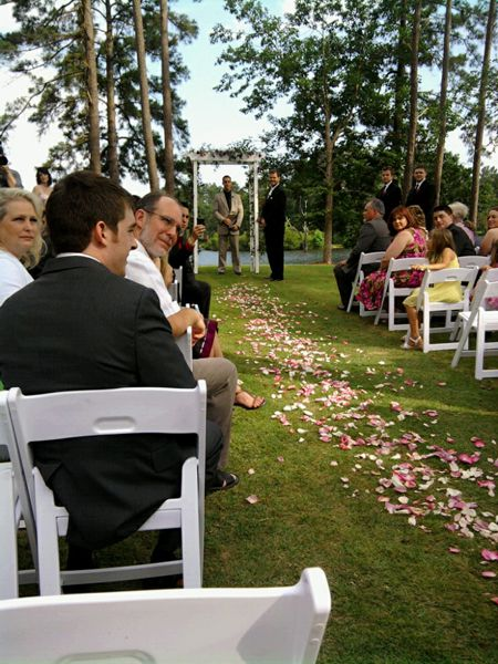 George Jr. officiates wedding at Innisbrook Resort and Golf Club in Palm Harbor