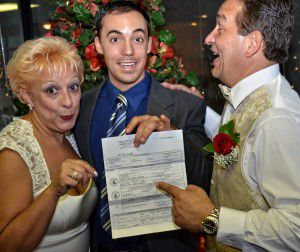 George Jr. makes your wedding officiate process fun!