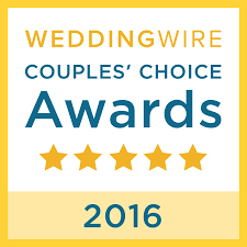 We Won WeddingWire Couples' Choice Awards 2016