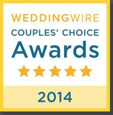 We Won Tampa & Tallahassee WeddingWire Couples Choice Awards 2014!
