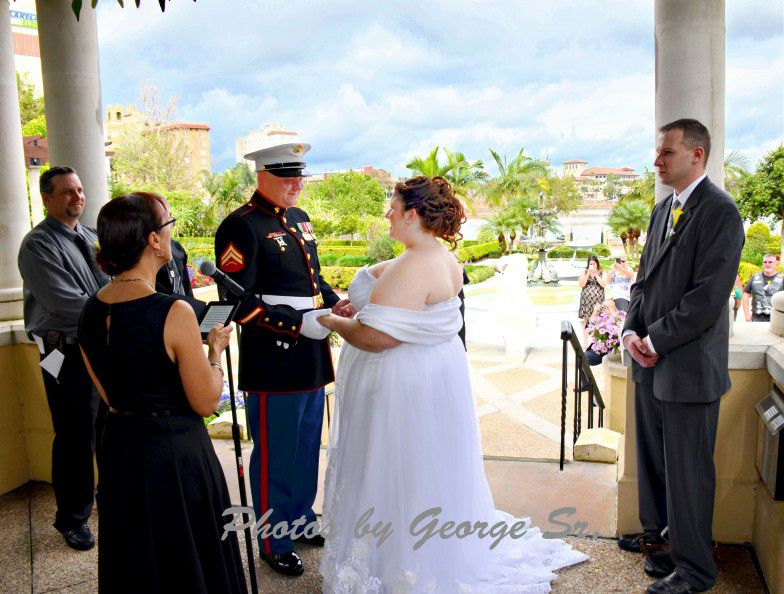Hollis Garden Lakeland Wedding Officiant Services & Packages