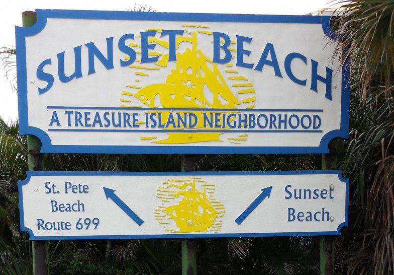 Sunset Beach in Treasure Island Florida Weddings