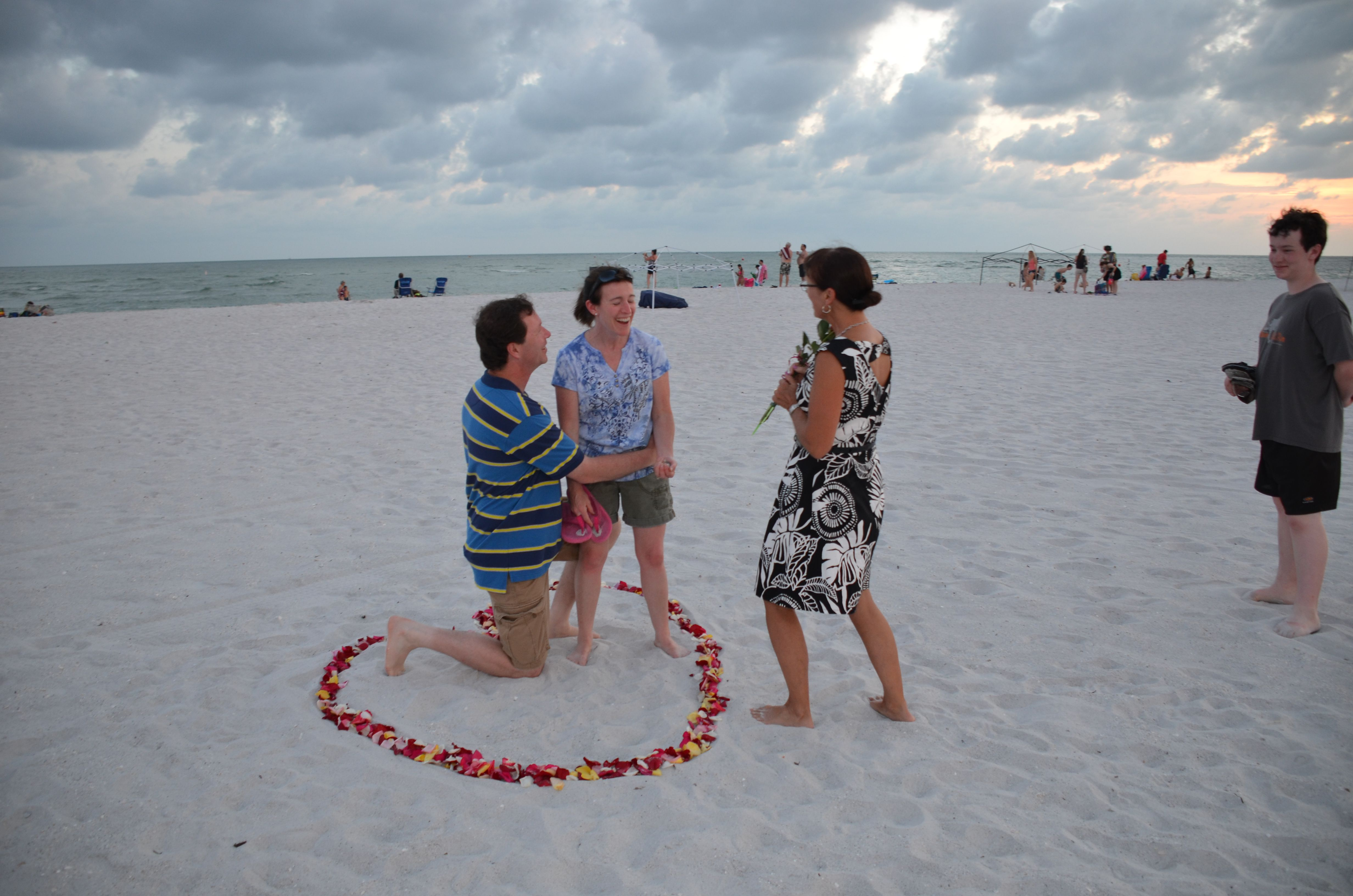 Beach Vow Renewal Ceremony: A Beautiful Wedding In Florida