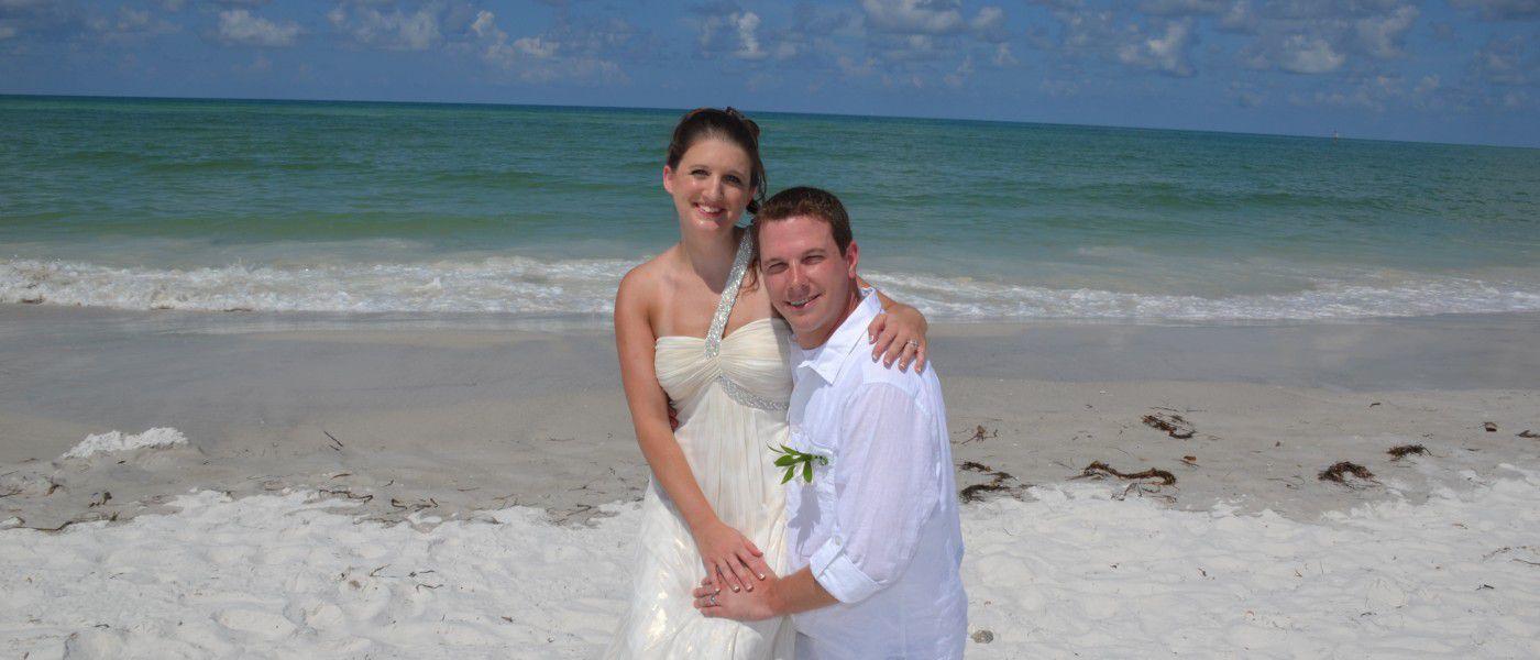 Siesta Key Beach Wedding Elopement