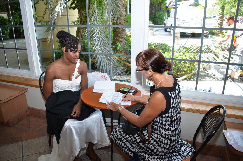"""I like to take care of all the """"business"""" aka marriage license before the ceremony so afterwards the couple can just enjoy! Photos by George Sr."""