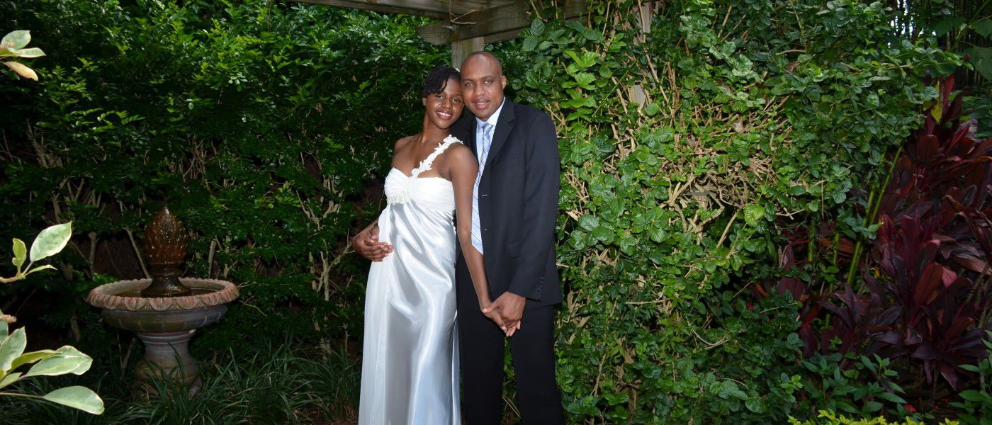 Sunken Gardens Wedding.Simple Sunken Gardens Wedding Ceremony