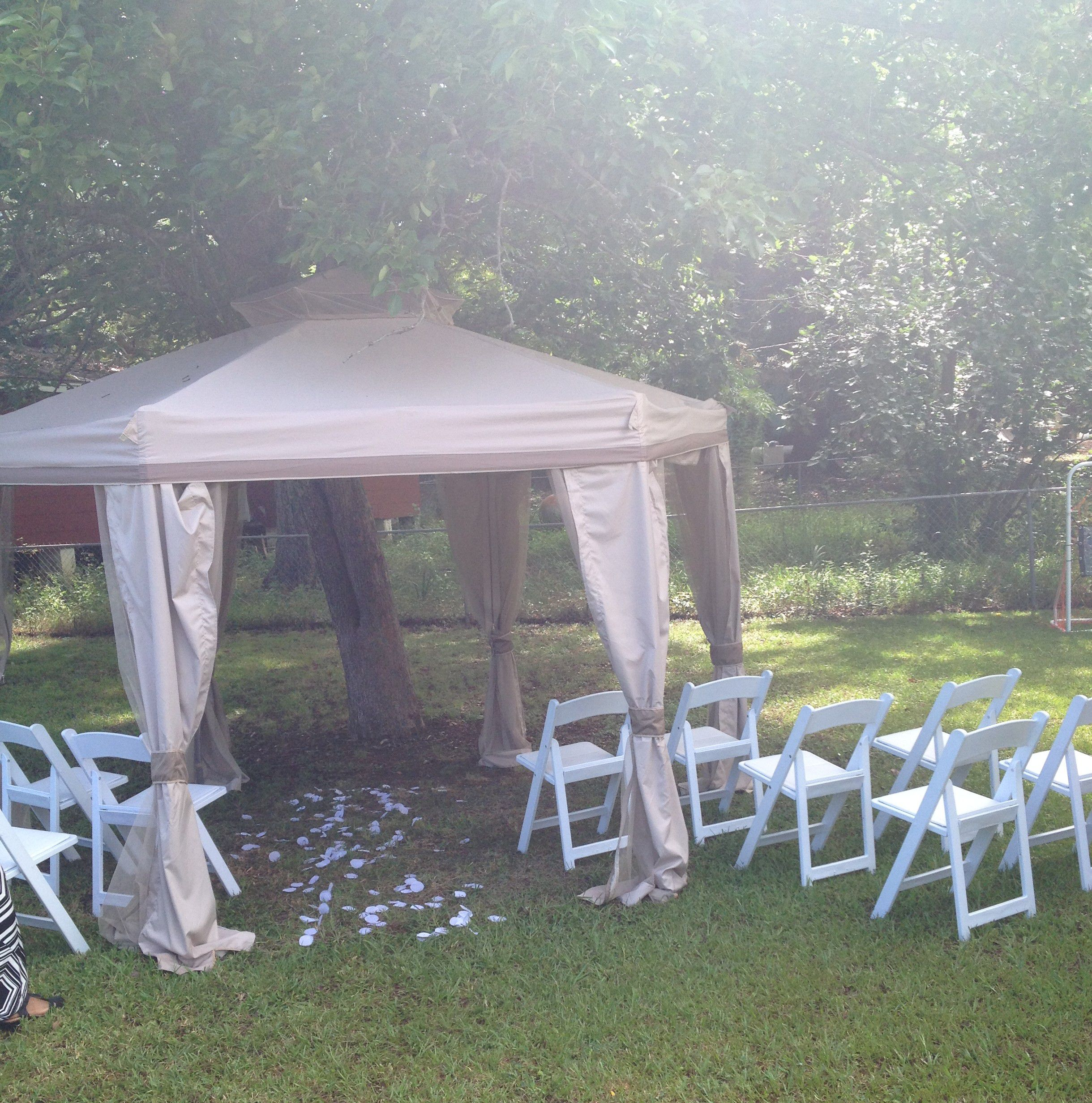 Tallahassee Home Wedding Ceremony