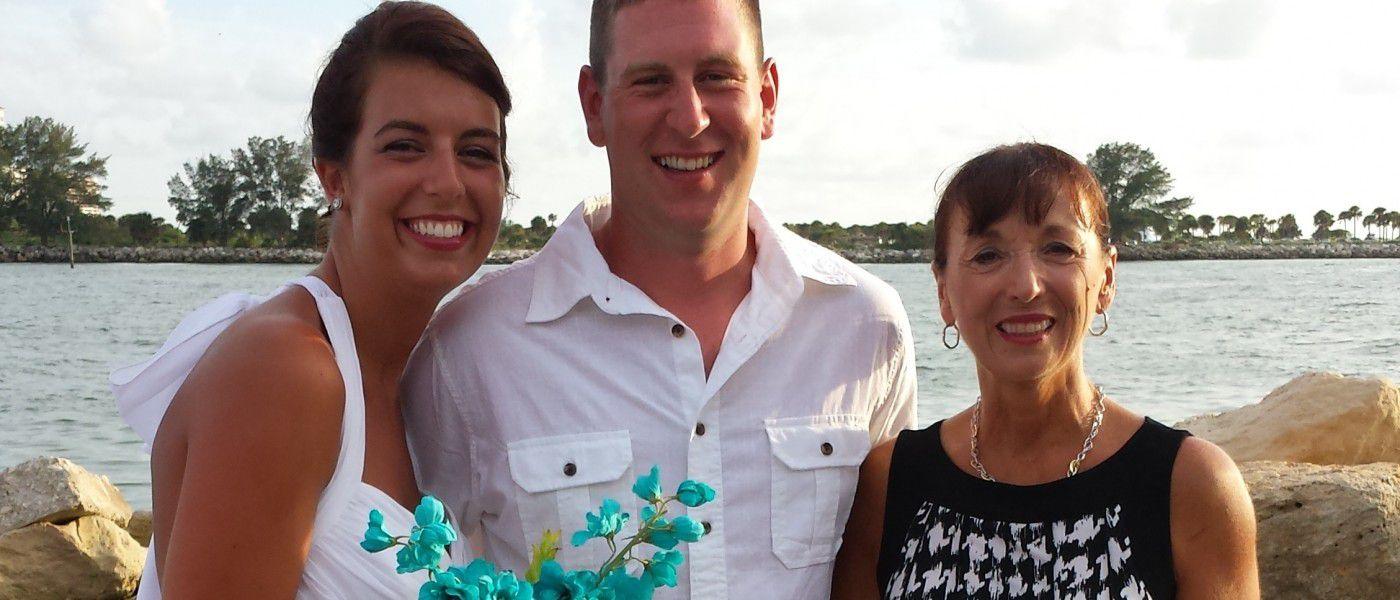 Wyndham Gardens on Clearwater Beach Wedding