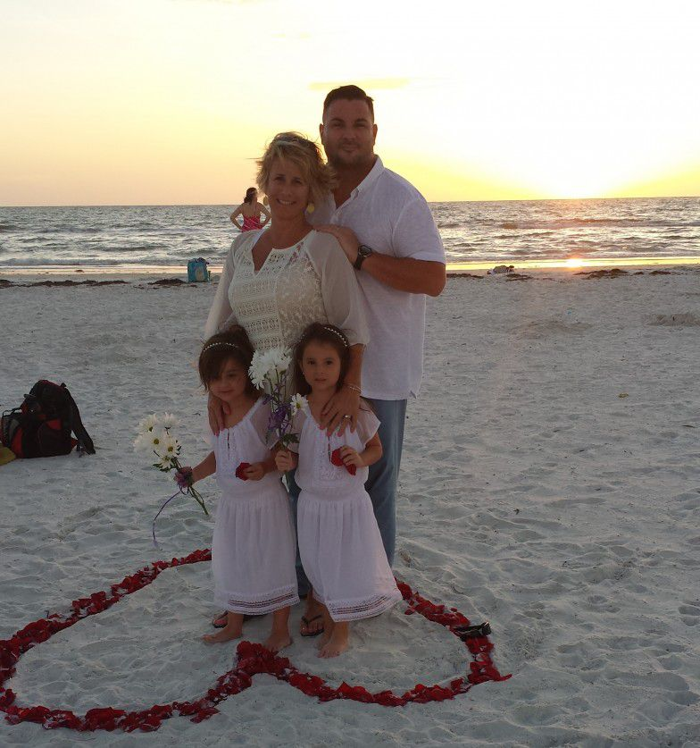 Surprise Vow Renewal Ceremony on Clearwater Beach
