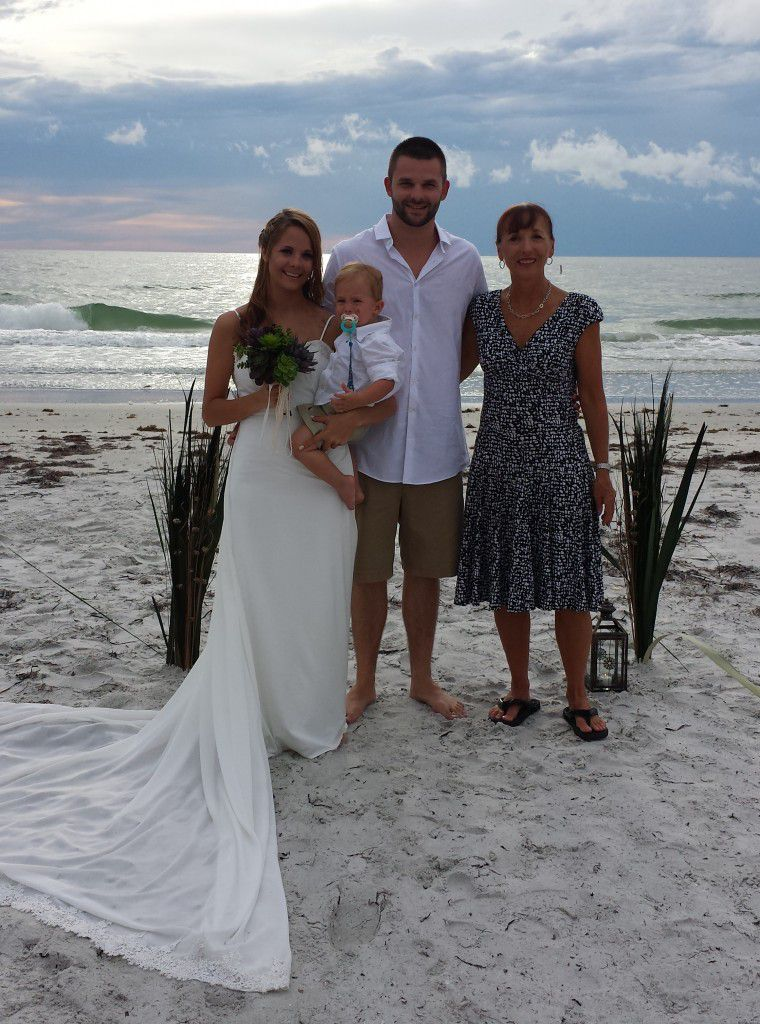 Congratulations, Michael and Megan. I had a wonderful time being a part of your Indian Rocks Beach wedding ceremony.