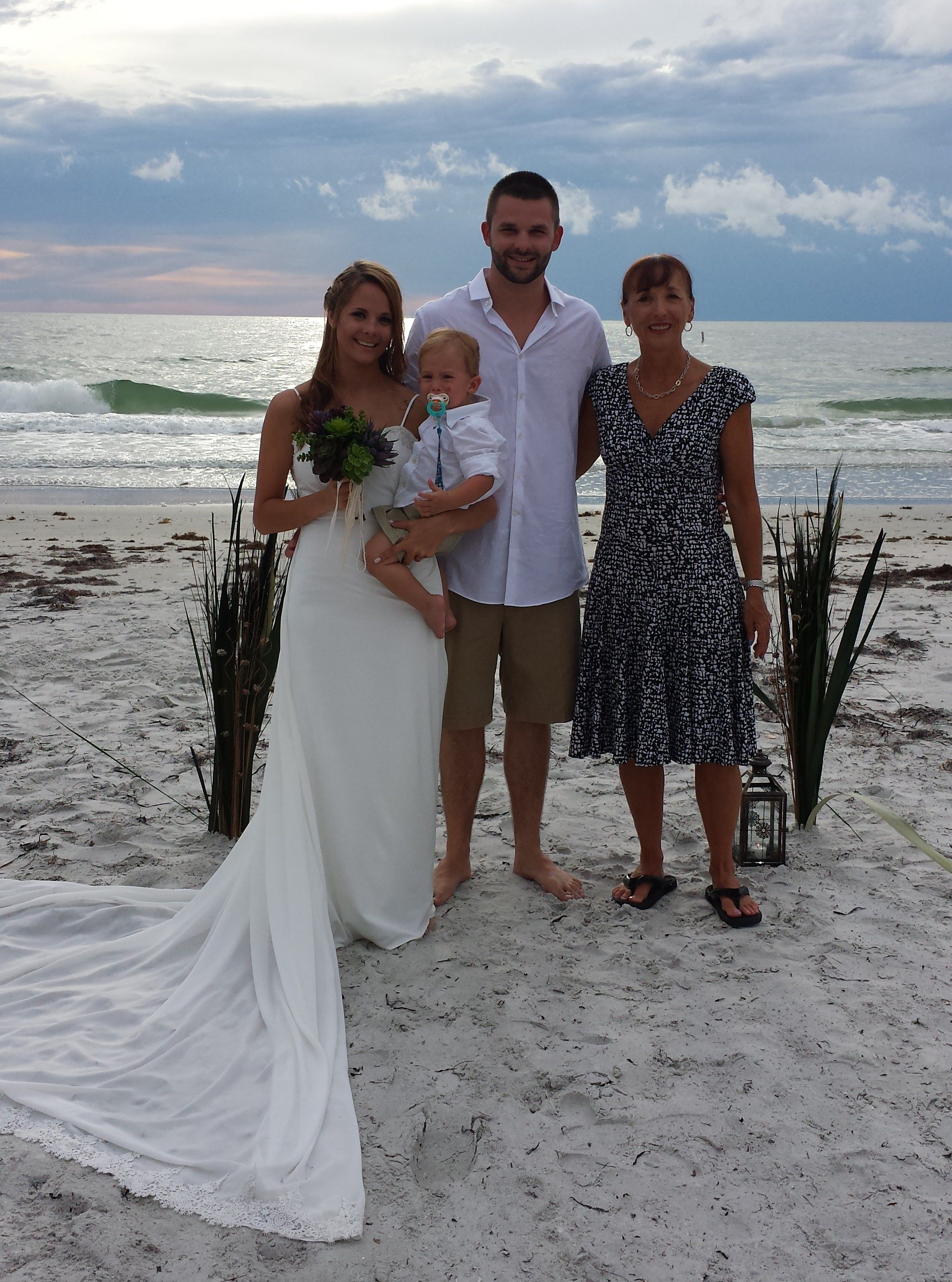 Indian Rocks Beach Wedding Ceremony