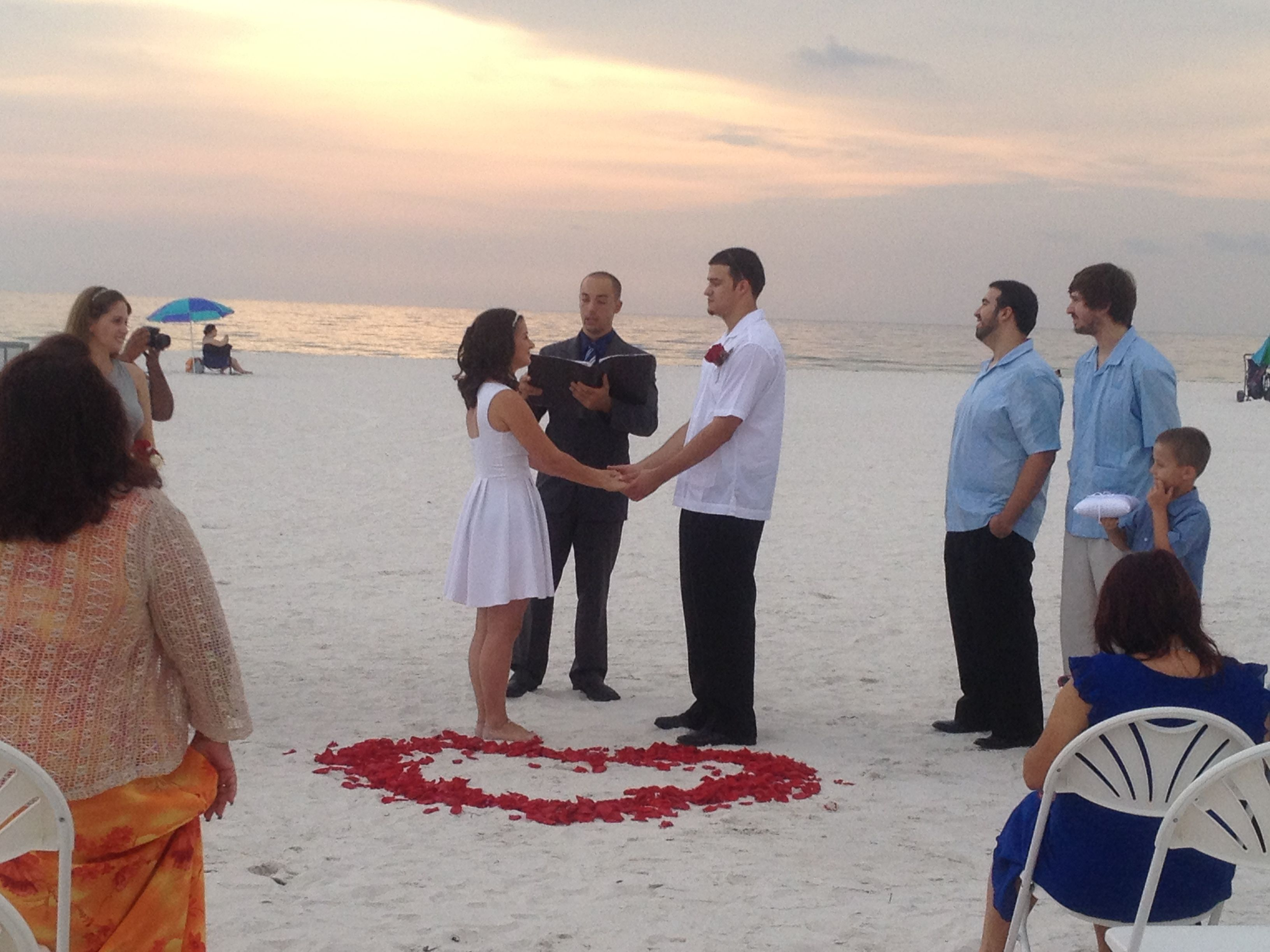 Spanish Wedding on Clearwater Beach
