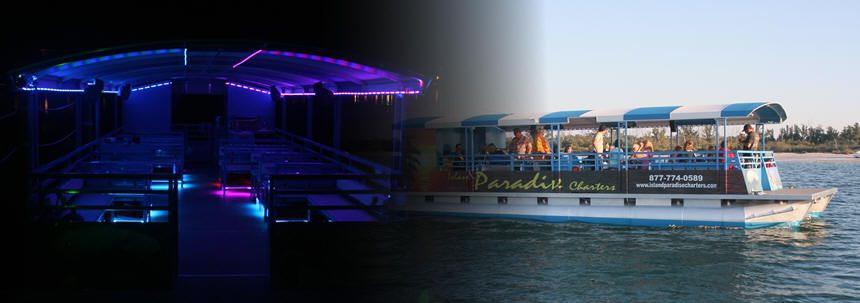 Charter a boat and get married on a private island OR get married right on the boat!