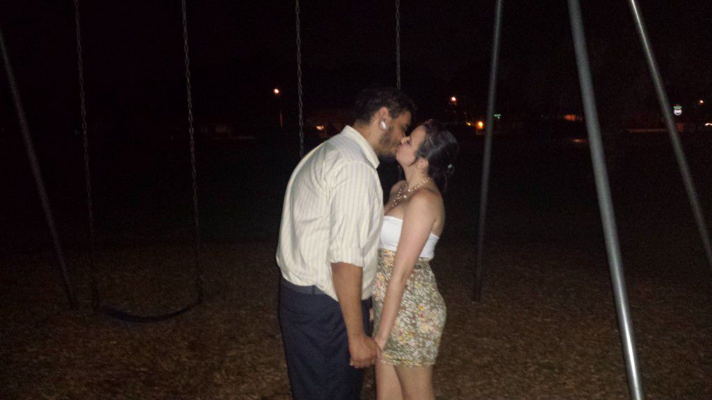 This Port Richey moonlight wedding was very romantic
