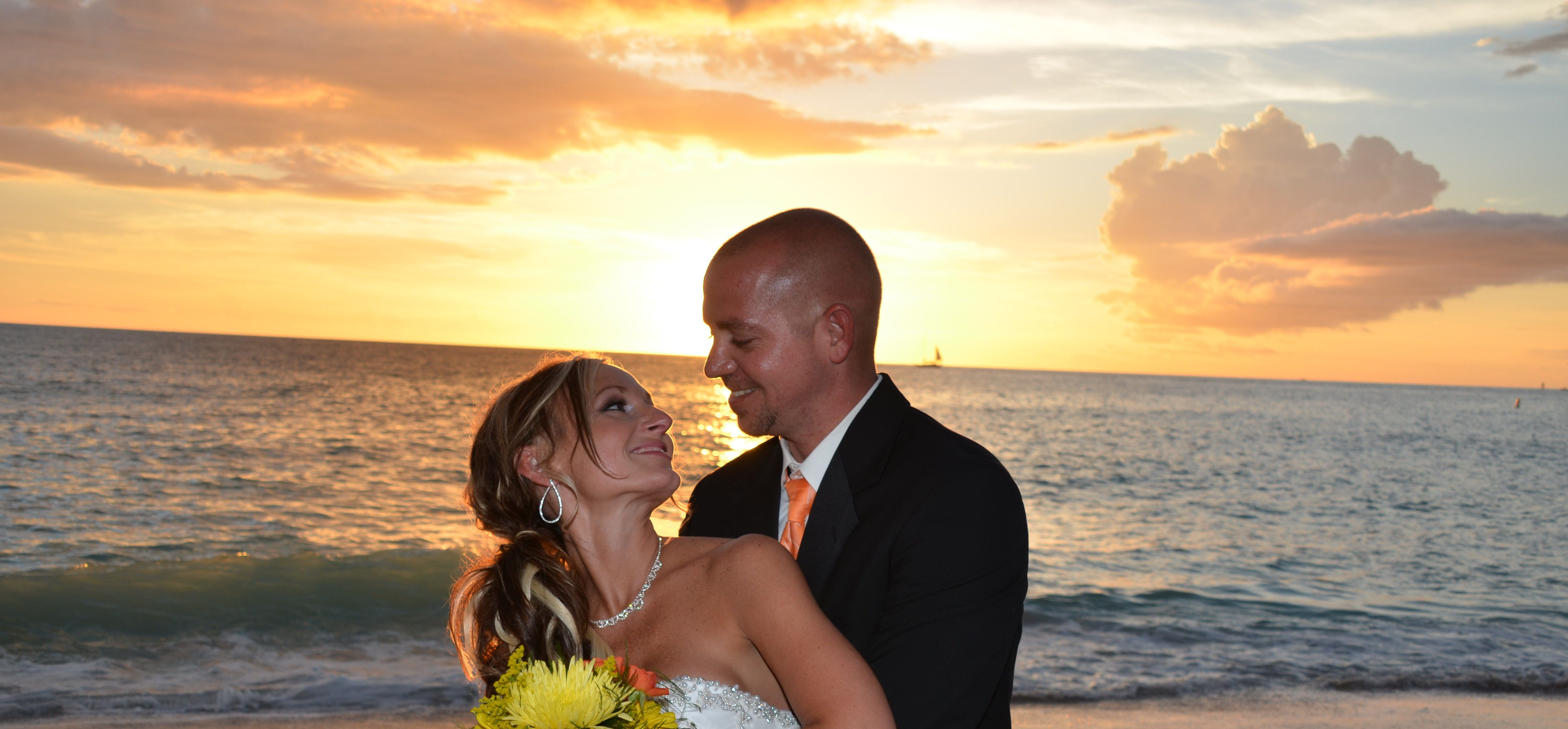 Sand Key Park in Clearwater Wedding