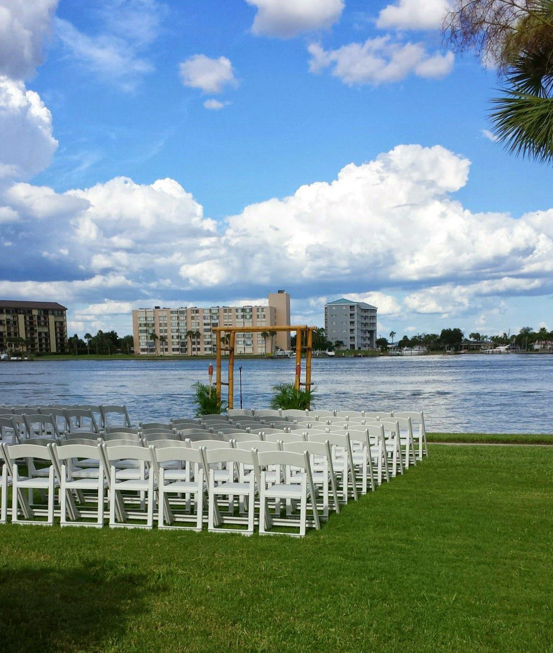 Clearwater Beach Wedding at the Clearwater Recerational Center