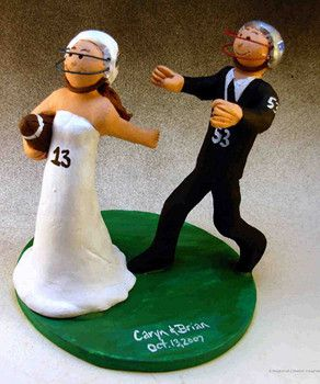 soccer player wedding cake toppers fall weddings in tallahassee fl 20273