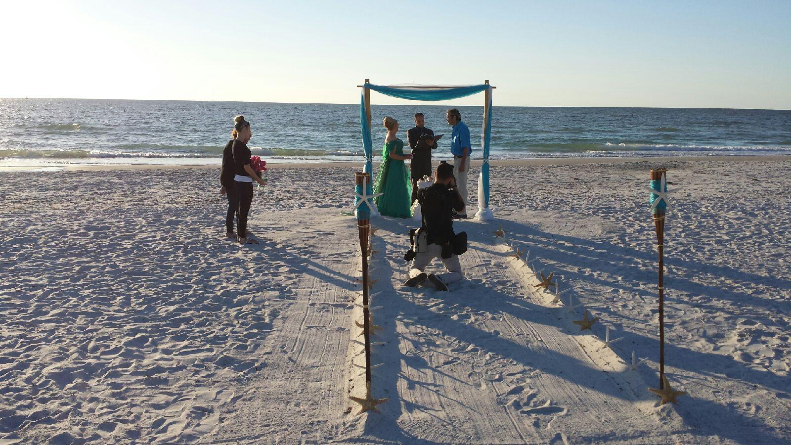 Wedding On Indian Rocks Beach Florida