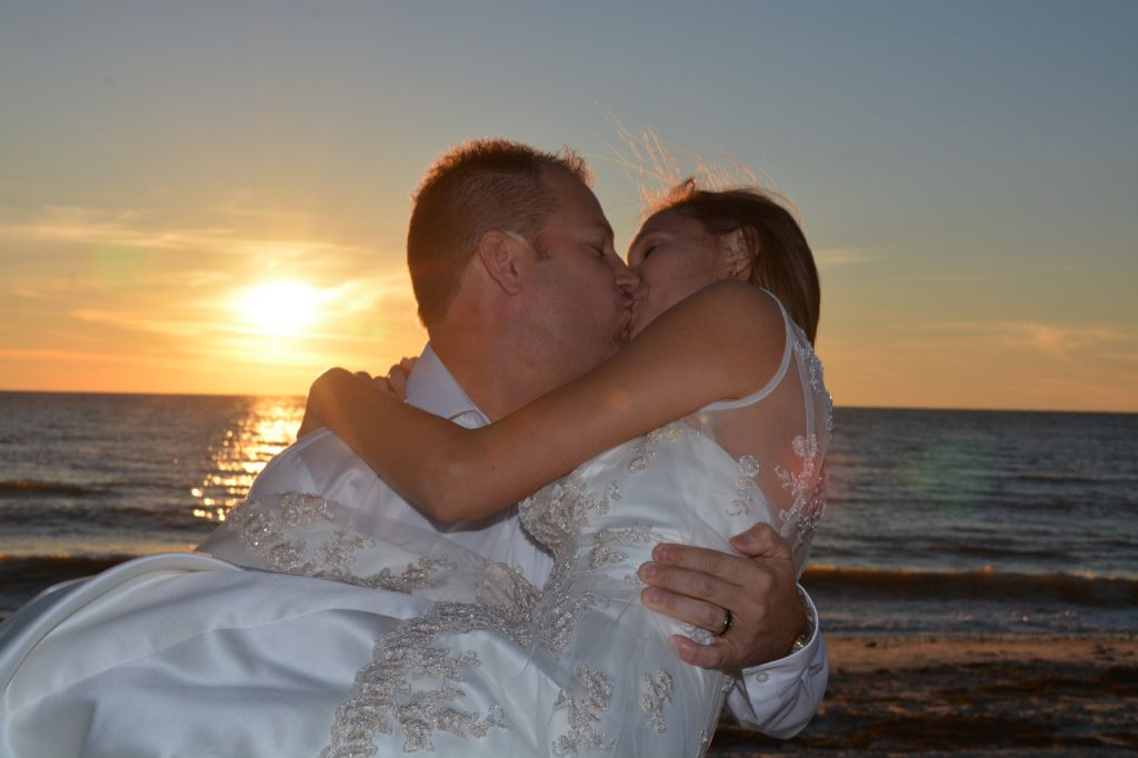 And they live happily ever after. Photos by George Sr.