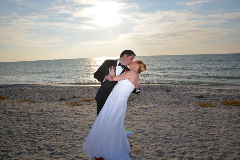 Sand Key Park Wedding Ceremony