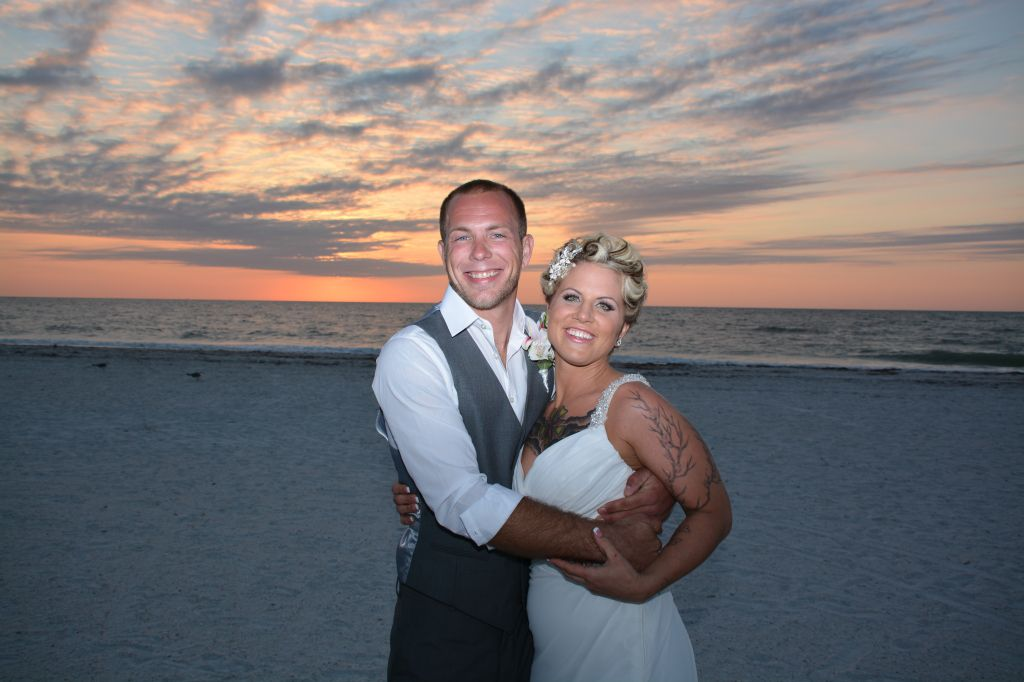Congratulations, Brittany and Kyle.