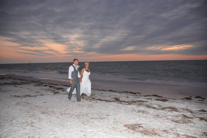 Chilly Clearwater Beach Wedding!!