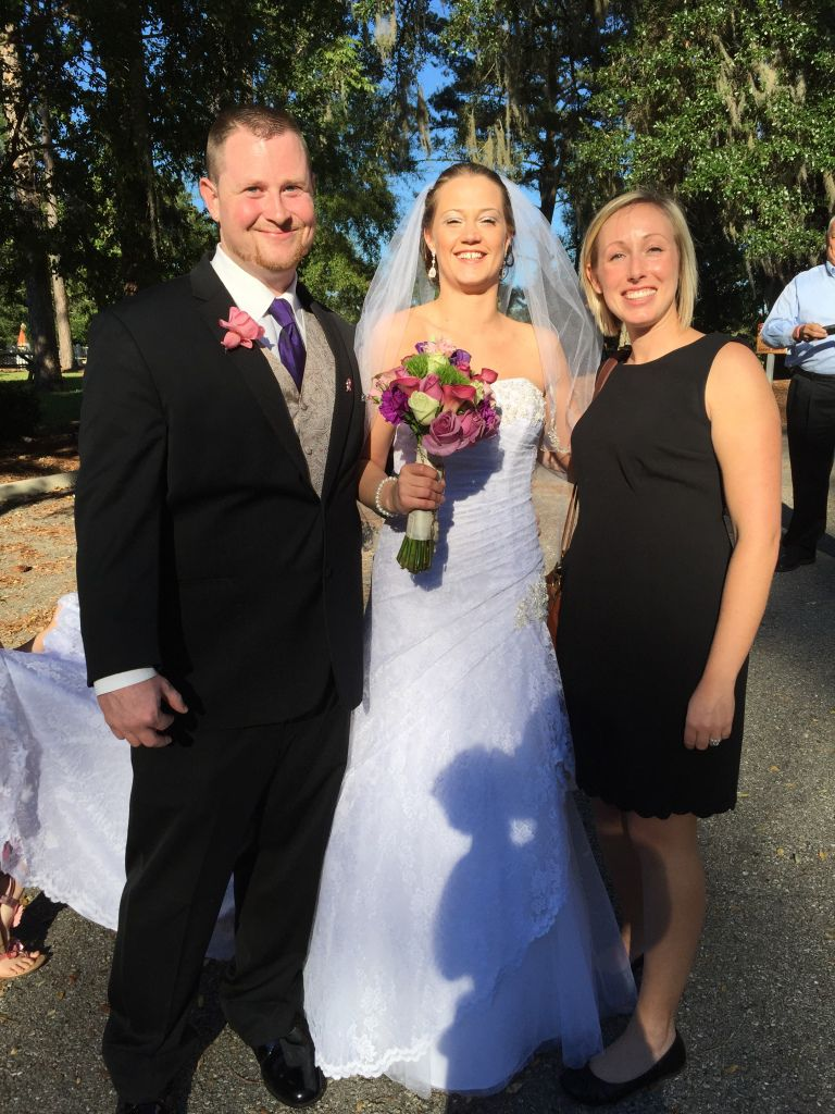 Me with the beautiful Leann and her now-husband Joseph