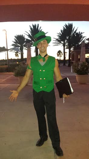 """George Jr. AKA the """"Lucky"""" Clearwater Beach Wedding Officiant"""