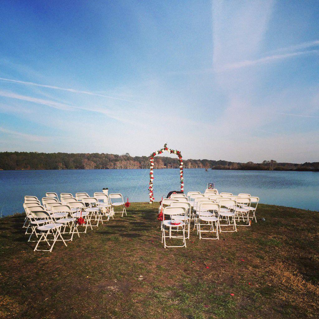 Lafayette Heritage Trail Park Tallahassee Wedding Ceremony