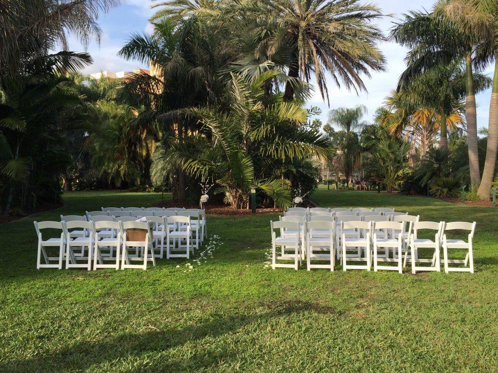 Gizella Kopsick Palm Arboretum wedding ceremony.