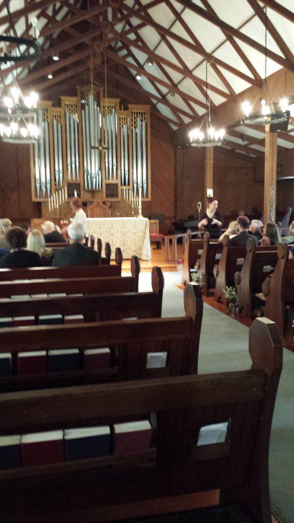 Church of Good Shepherd Dunedin Wedding Ceremony