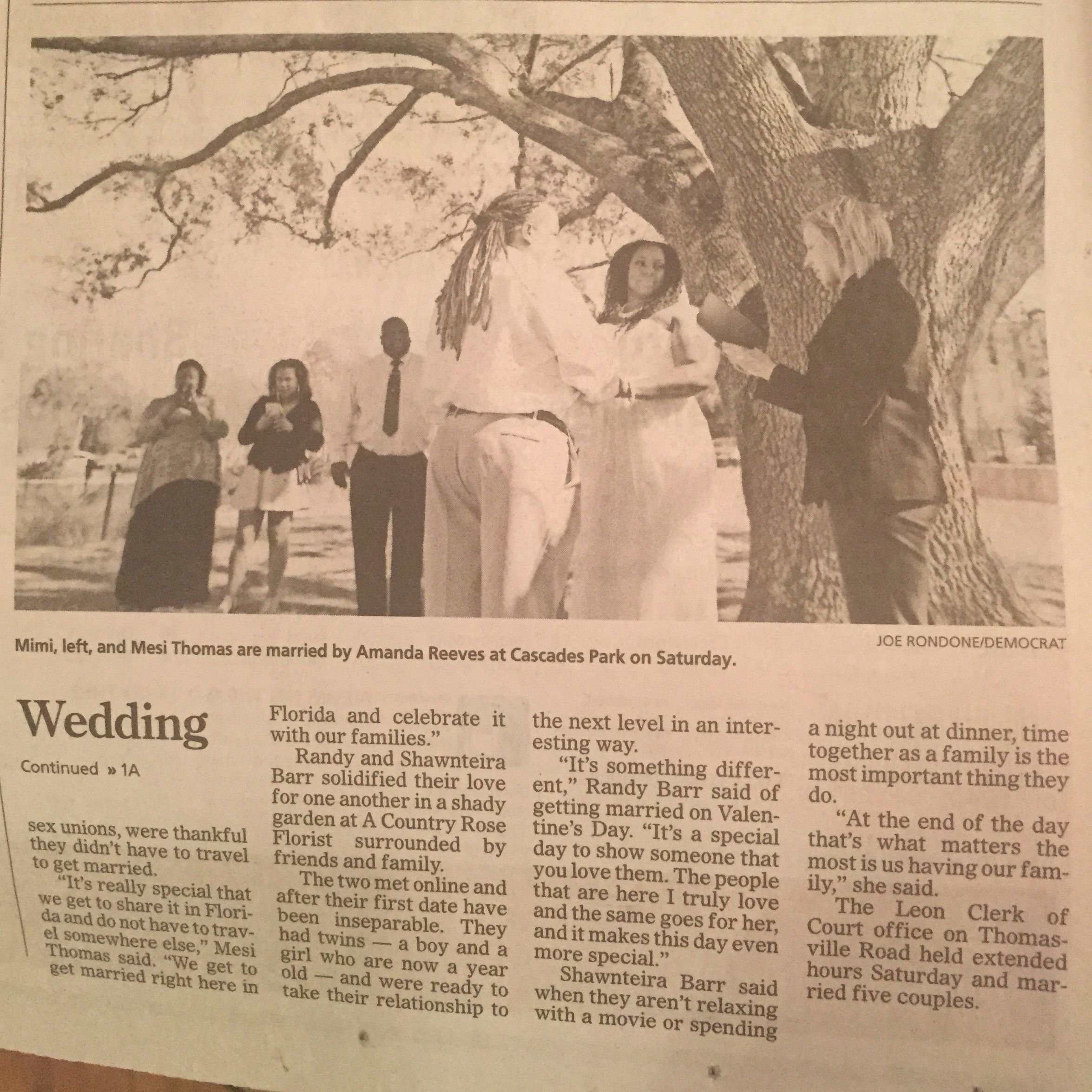 Tallahassee Non Religious Wedding Officiant Archives
