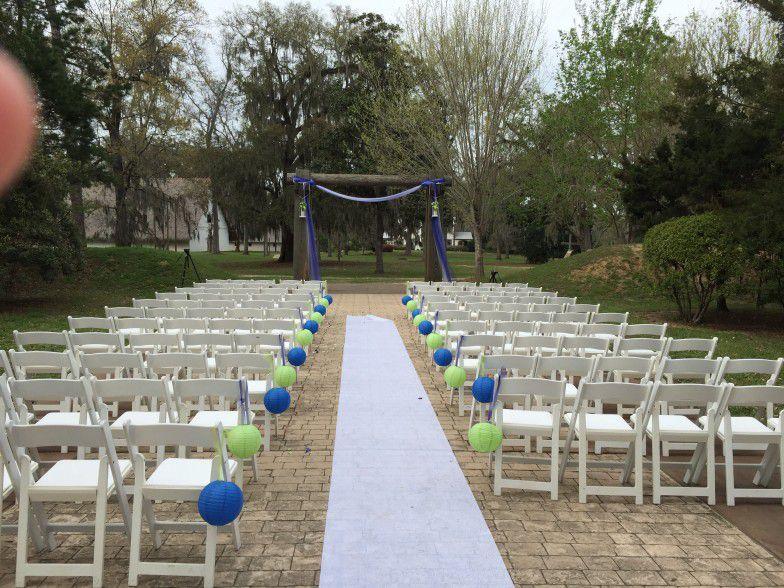 Mission San Luis Wedding Ceremony Tallahassee Florida