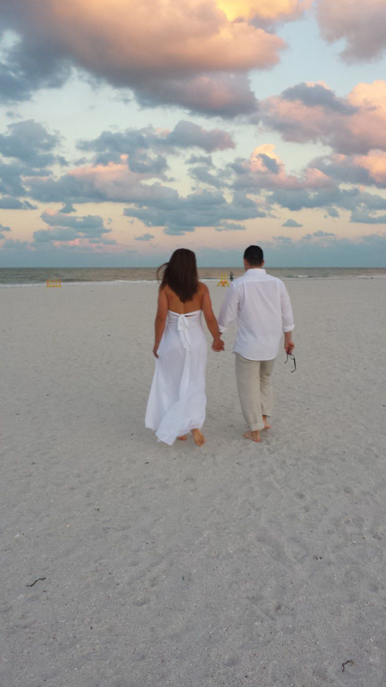 Sunrise Wedding- St. Petersburg Beach FL