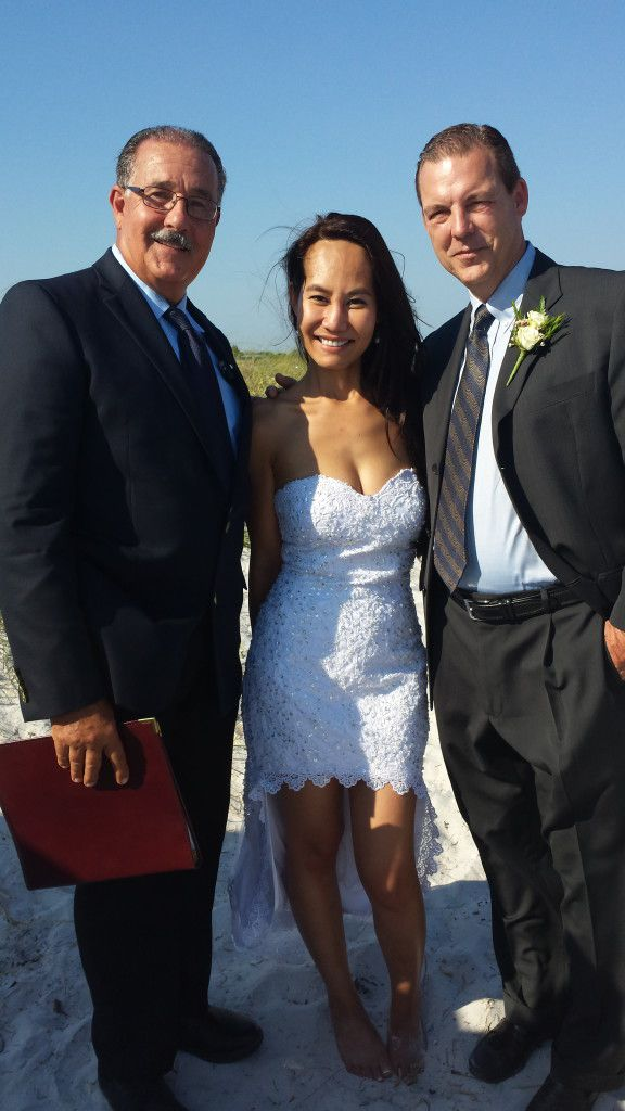 Honeymoon Island Wedding Ceremony in Dunedin Florida