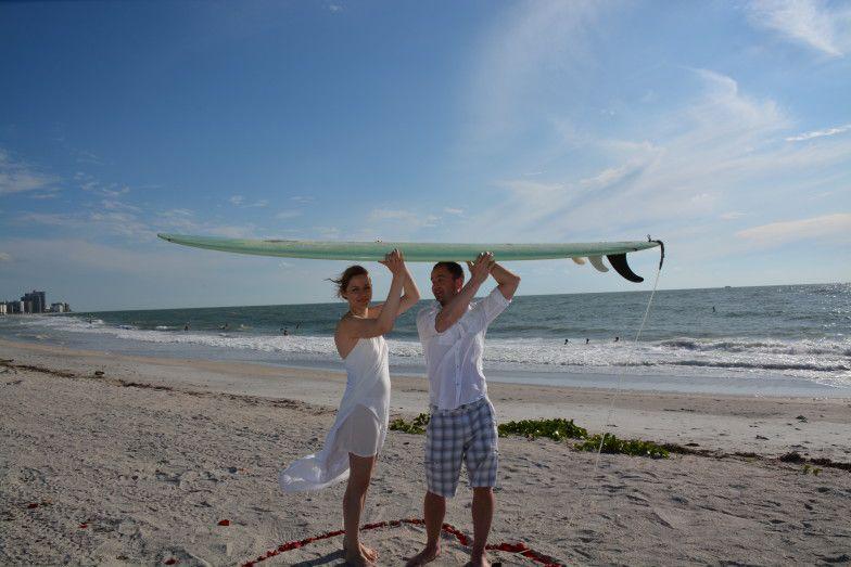 Sand Key Park Clearwater Wedding Ceremony