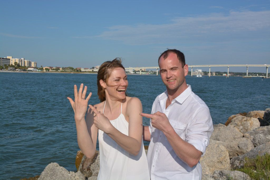 Just married!!! Photos by George Sr.
