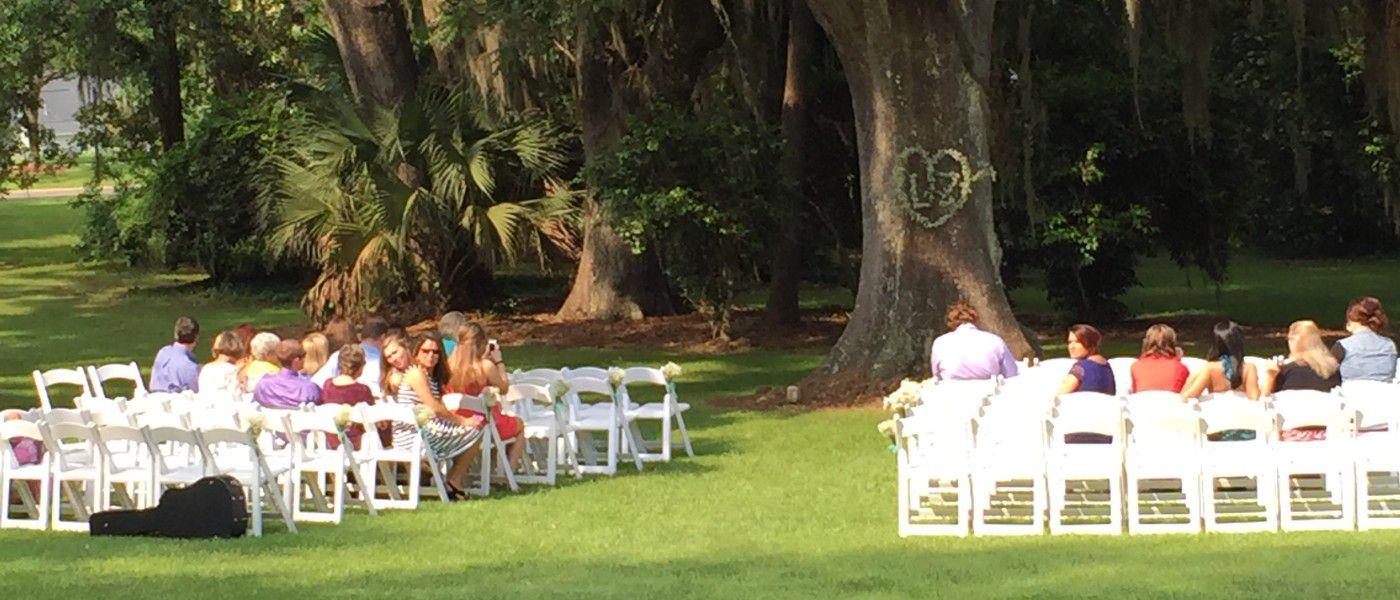 Southwood House Wedding Ceremony Tallahassee Florida