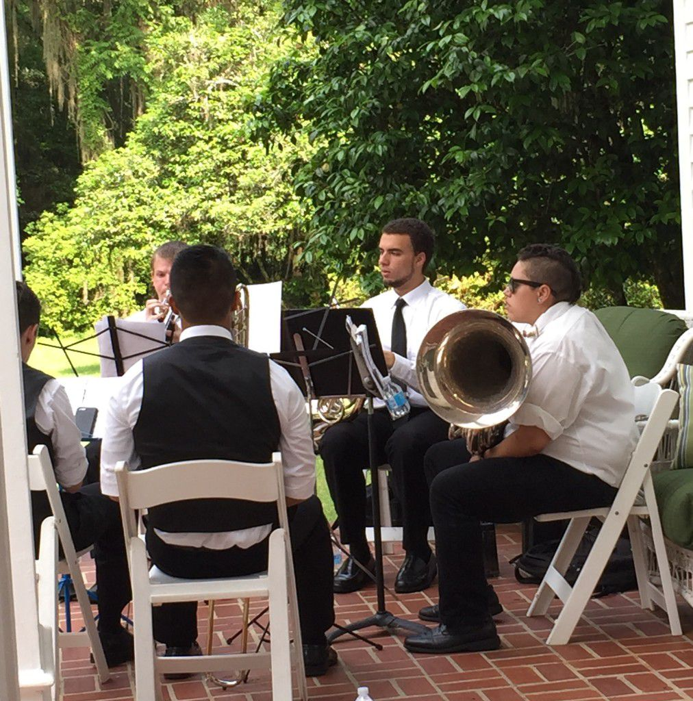Southwood House wedding ceremony in Tallahassee