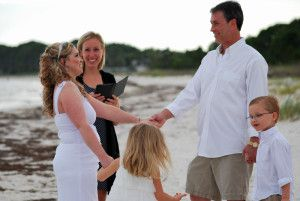 Carrabelle Beach wedding officiant