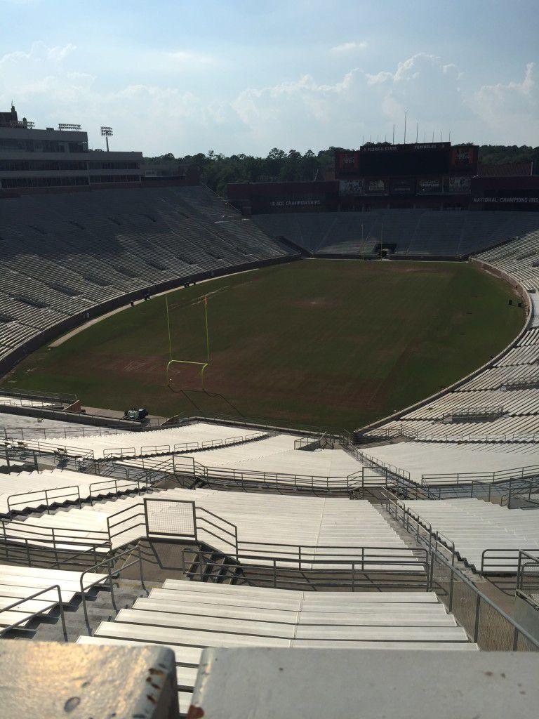 View of the FSU football field