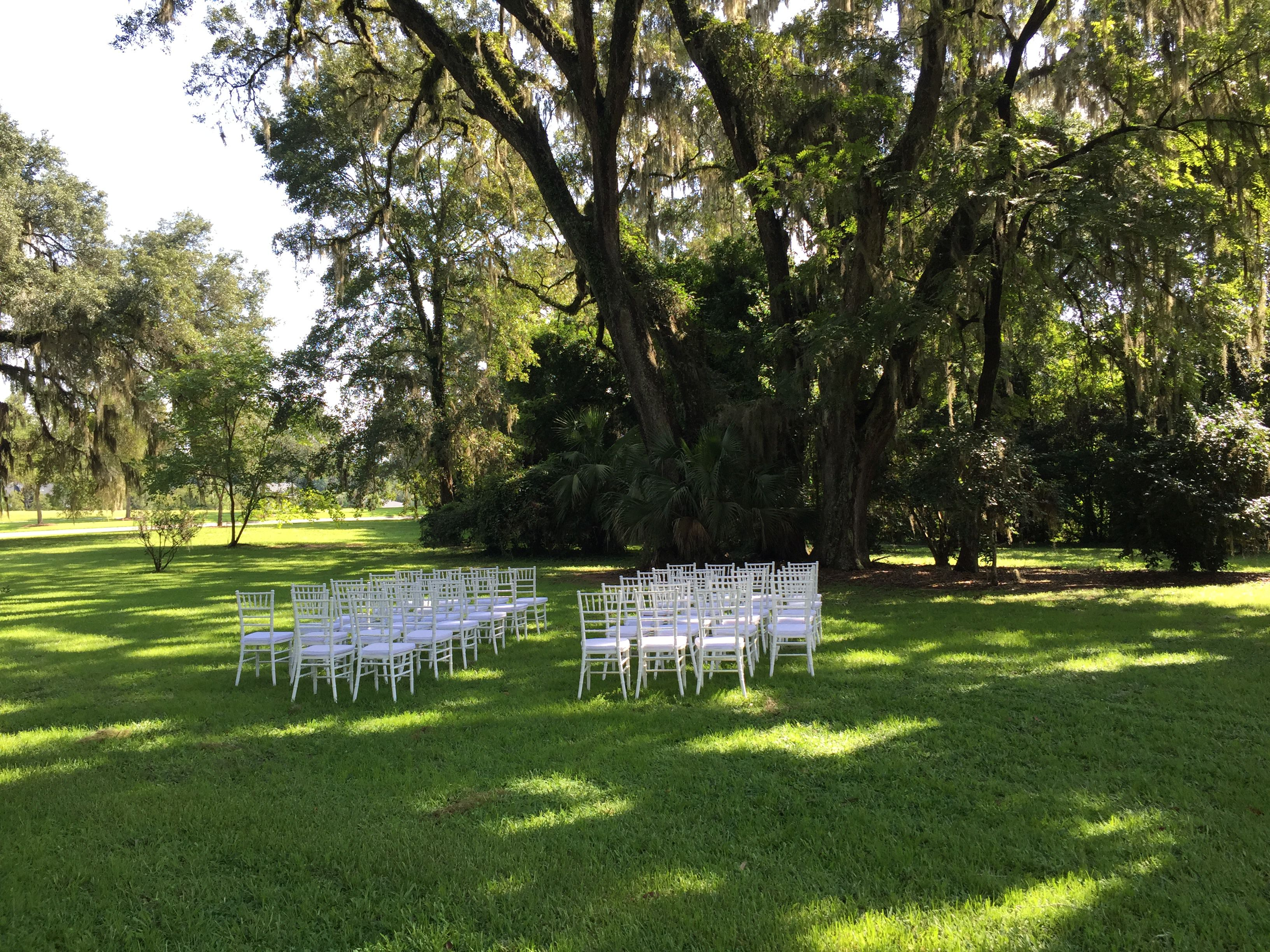 Beautiful Tallahassee Wedding Ceremony at the Southwood House