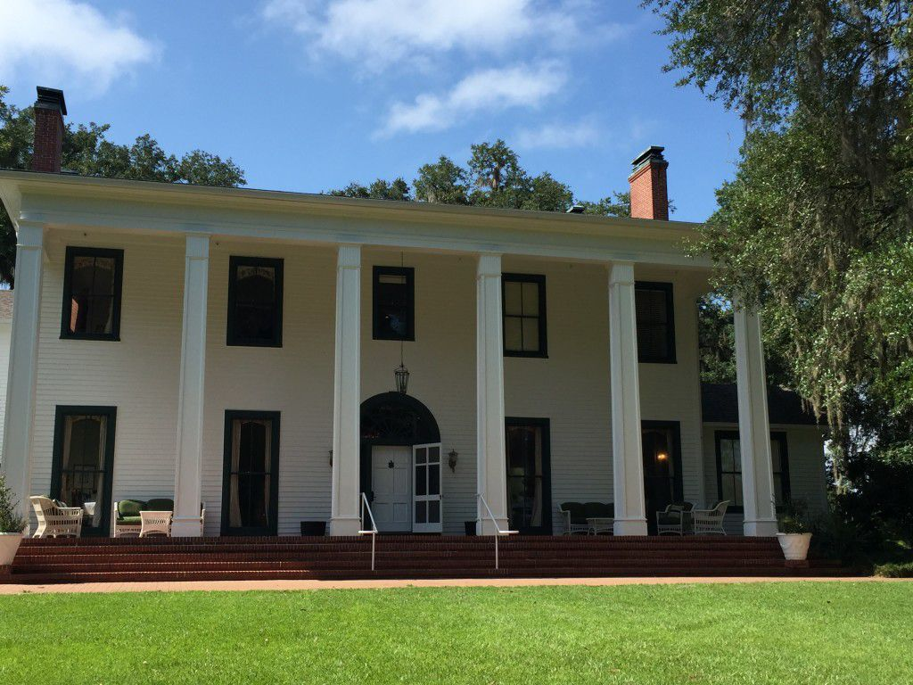 Kelly and Ayer's had a Beautiful Tallahassee Wedding Ceremony at the Southwood House followed by a reception inside this historic house.