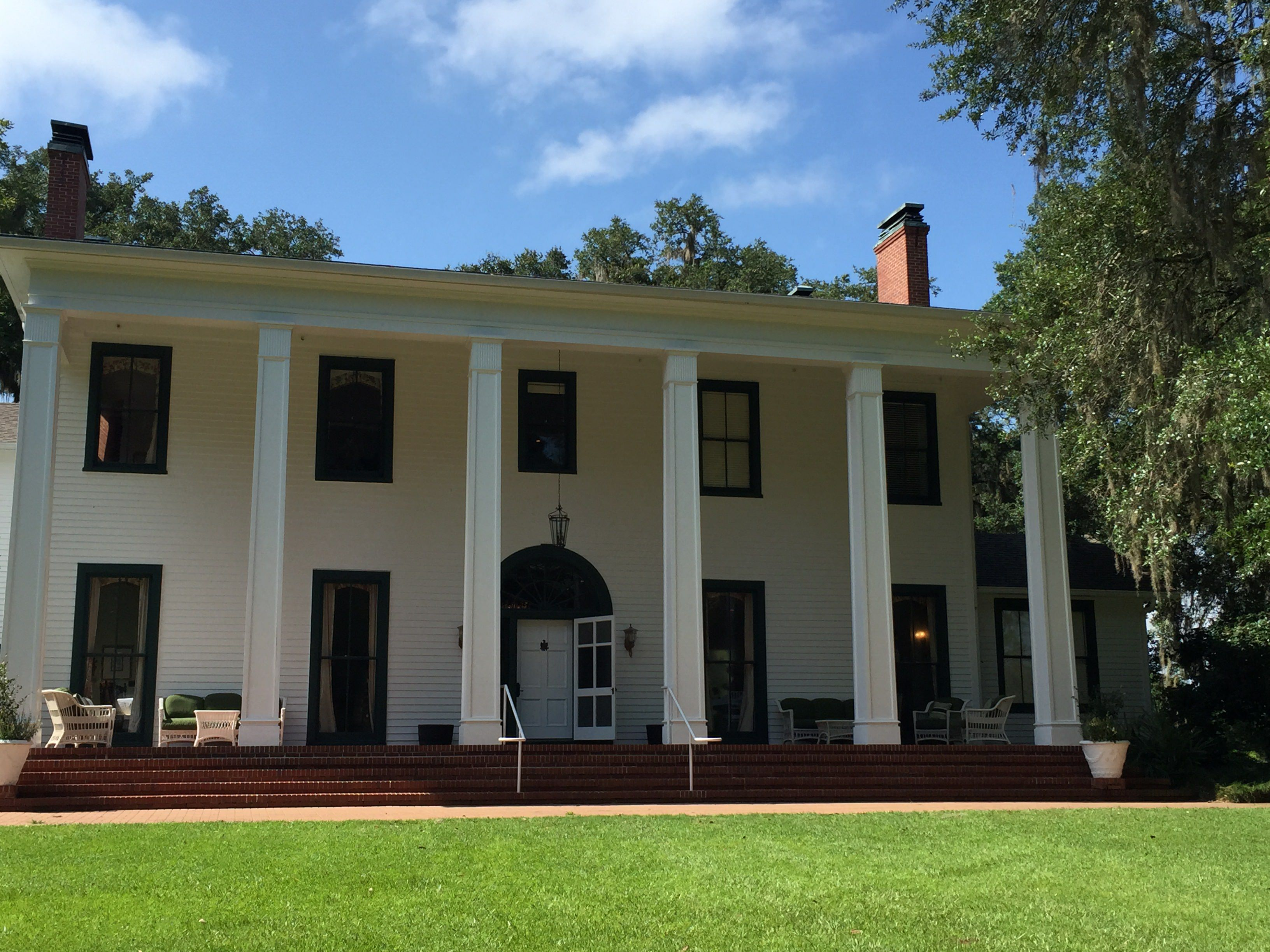Beautiful tallahassee wedding ceremony at the southwood house for Southwood house