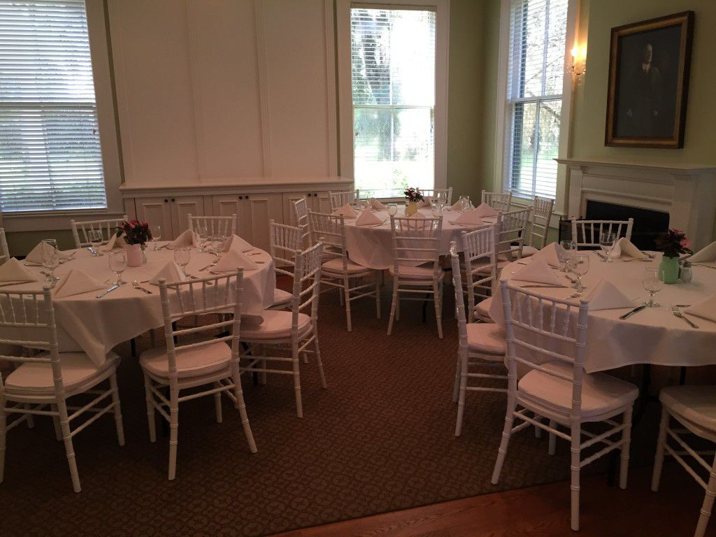 Lunch wedding reception at the Southwood House in Tallahassee