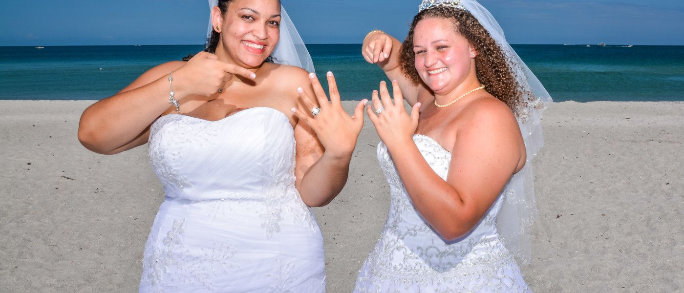 Do we officiate same sex marriages in Clearwater & Tallahassee Florida?
