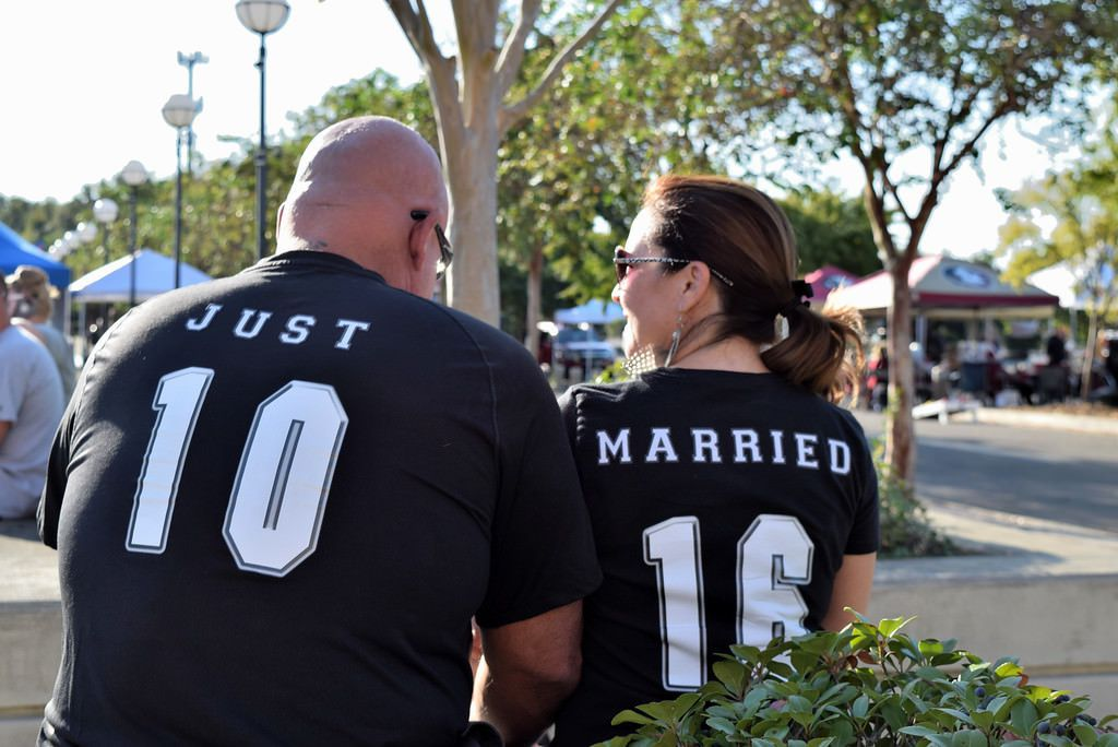 Game day wedding shirts