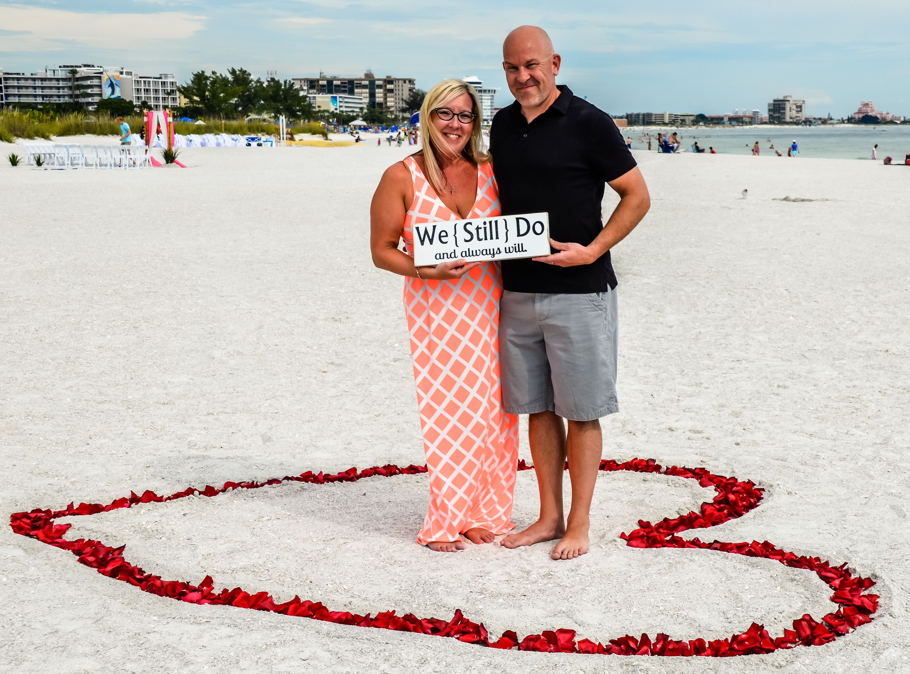 Beach Vow Renewal Ceremony: Vow Renewal Ceremony In Tampa & Clearwater