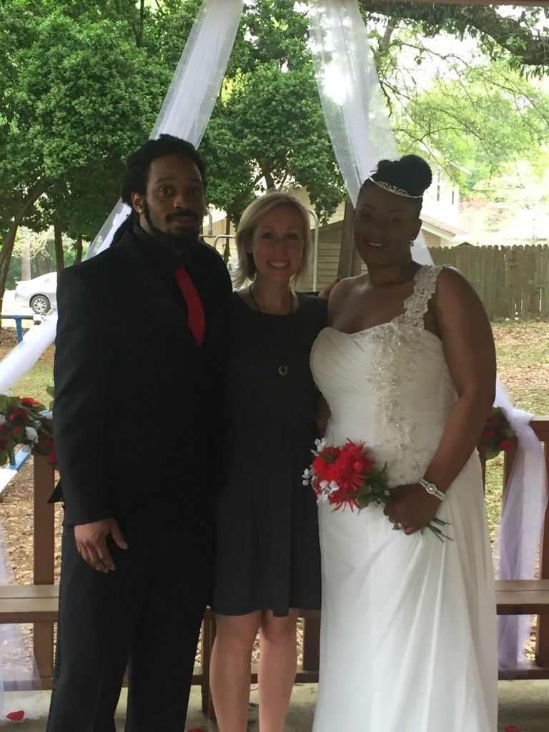 Congratulations, Stephanie and Christopher!!