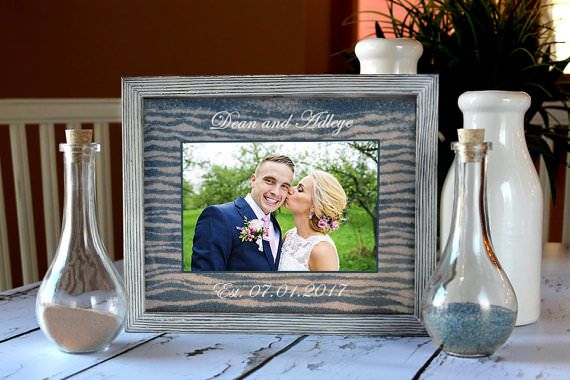 Sand Ceremony Photo Frame Kit